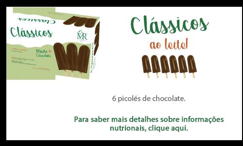 Clássicos ao leite - Chocolate